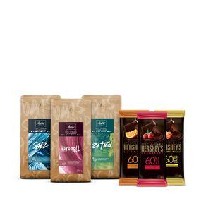 Kit-Cafes-Especiais-Melitta-Grao-250g---3-barras-Hershey-s-Special-Dark-85g