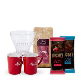 Kit-Preparo-Duplo-Melitta-Karamell-Moagem-Media-250g---2-barras-Hershey-s-Special-Dark-85g