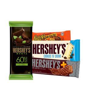Kit-4-un.-Barra-Cookies-n-Creme-Barra-Special-Dark-Menta-Wafer-Mais-ao-Leite-e-Reese-s-Outrageous