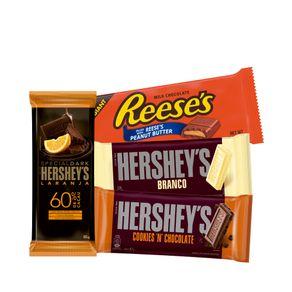 Kit-4-un.-Barras-Chocolate-Branco-Cookies-n-Creme-Special-Dark-Laranja-e-Ao-Leite-Recheada-Reese-s